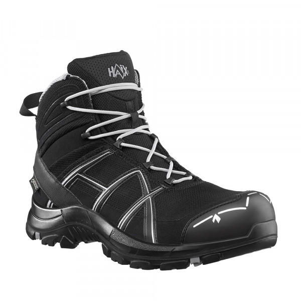 HAIX Black Eagle Safety 40.1 Mid black/silver
