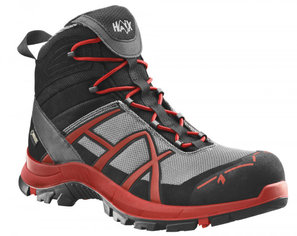 HAIX Black Eagle Safety 40 mid/stone-red