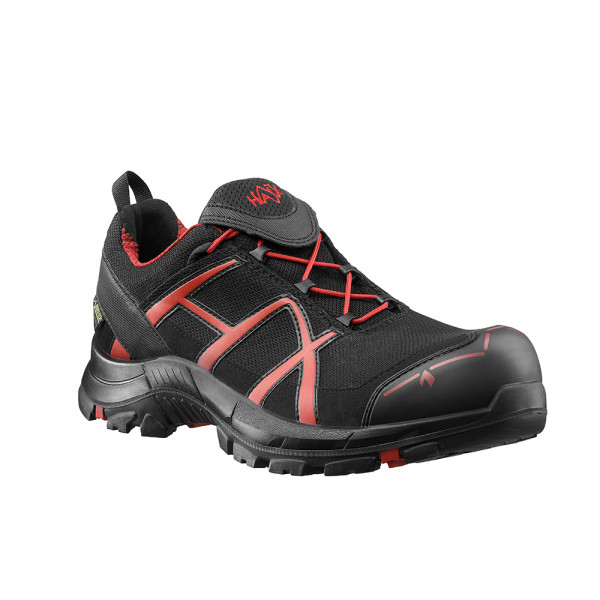 HAIX Black Eagle Safety 40 Low black/red